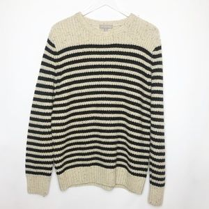 Grayson & Dunn | Wool Blend Striped Sweater  L